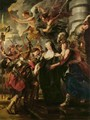 Paintings for Maria de Medici, Queen of France, scene queen escapes from Blois - Peter Paul Rubens