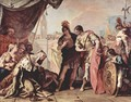 The family of Dario before Alexander the Great - Sebastiano Ricci