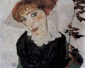 Portrait of Wally - Egon Schiele