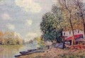 The Loing at Moret 3 - Alfred Sisley