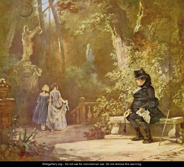 The widower - Carl Spitzweg