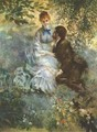 Lovers - Pierre Auguste Renoir
