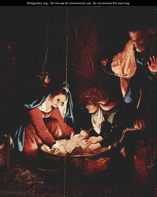 Birth of Jesus Christ - Lorenzo Lotto