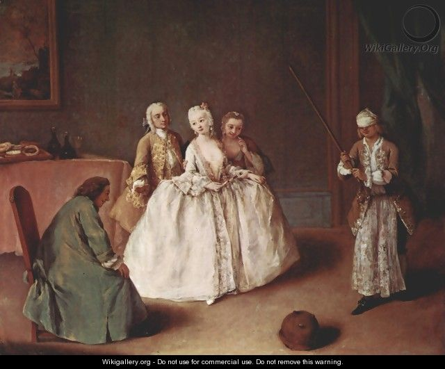 Cup beating - Pietro Longhi