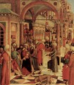 The capture of St. Mark in the synagogue - Giovanni di Niccolo Mansueti