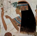 Grave chamber of Userhet, royal scribe, Scene Portrait of a Lady - Egyptian Unknown Masters