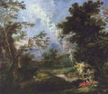 Landscape with the Dream of Jacob - Michael Leopold Willmann