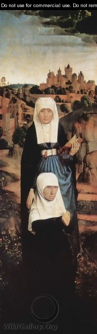 The Founder Praying with Saints - Hans Memling