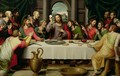 The Last Supper - Juan De (Vicente) Juanes (Masip)