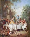 The ham breakfast - Nicolas Lancret