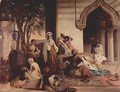 The new favorite (Harem scene) - Francesco Paolo Hayez