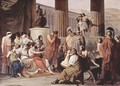 Ulysses at the court of Alcinous - Francesco Paolo Hayez