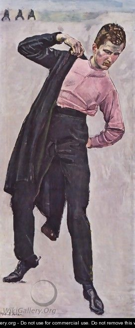 Young freedom fighter - Ferdinand Hodler