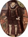 Portrait of Sir Christopher Hatton, Oval - Nicholas Hilliard