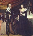 Prince Frederik Hendrik, and his wife Amalia van Solms - Gerrit Van Honthorst