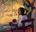 Birth (Be Be) - Paul Gauguin
