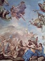 Frescoes in the gallery of the Palazzo Medici-Riccardi in Florence, Scene The Creation of Man - Luca Giordano