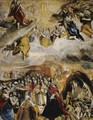 Allegory of the victory at Lepanto - El Greco (Domenikos Theotokopoulos)