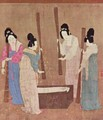 Women preparing silk - Huizong Emperor