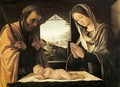 Holy Family - Lorenzo Costa