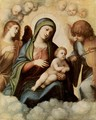 Madonna and musician angels - Correggio (Antonio Allegri)