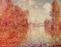 Autumn in Argenteuil - Claude Oscar Monet