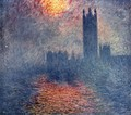 Houses of Parliament, Sunset - Claude Oscar Monet