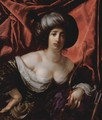 Portrait of a lady as Diana - Cesare Dandini