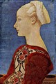 Profile portrait of a young woman - Antonio Del Pollaiuolo