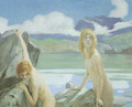 Two Bathers - Paul Emile Chabas