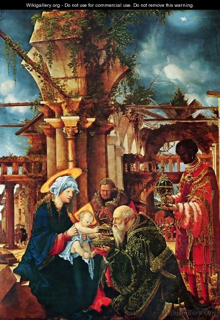 The Adoration of the Kings - Albrecht Altdorfer