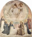 Frescoes in the Dominican convent of San Marco in Florence, Crowing Mary - Angelico Fra