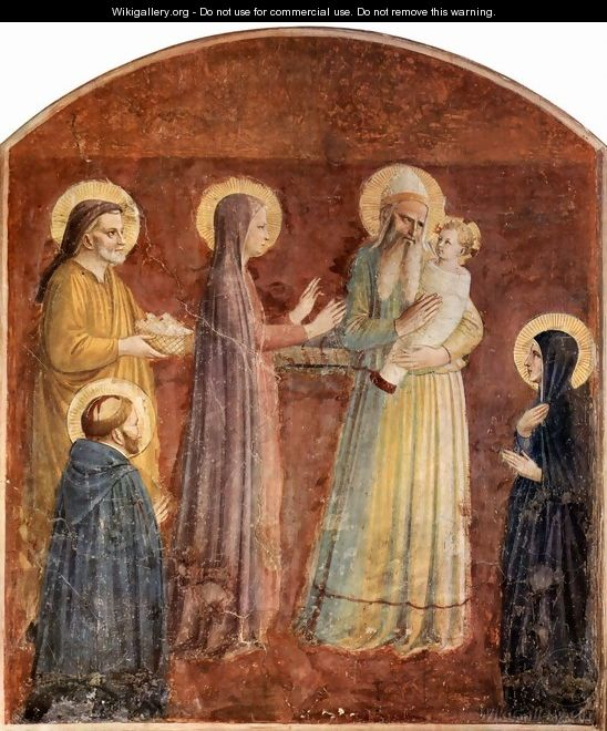 Italian Florence: Frescoes In The Dominican Convent Of San Marco In Florence