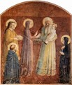 Frescoes in the Dominican convent of San Marco in Florence, presentation in the temple - Angelico Fra