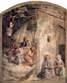 Frescoes in the Dominican convent of San Marco in Florence scene of Christ on the Mount of Olives - Angelico Fra
