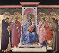 Enthroned Virgin and Child with Saints - Angelico Fra