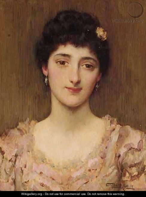 Portrait Of A Girl - William A. Breakspeare