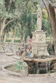 Fountain In The Park - R. Janni