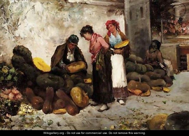 Vegetable Market, Italy - Antonio Lonza
