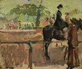 Hyde Park, Rotten Row, London - Isaac Israels