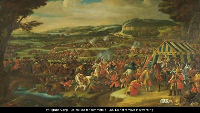 Battle Of Vienna - (after) Adam Frans Van Der Meulen