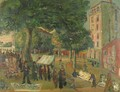 The Market, Place D'Alleray, Paris - Abraham Mintchine