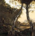 An Italianate Landscape With Drovers And Their Herds - (after) Adam Pynacker