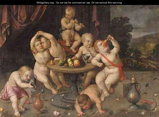 An Allegory Of The Senses - Flemish School