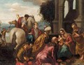 The Adoration Of The Magi 2 - (after) Jacopo Bassano (Jacopo Da Ponte)