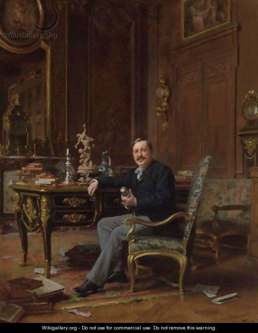 The Connoisseur - Jules Worms