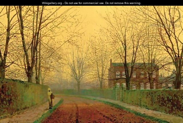 Late October - John Atkinson Grimshaw