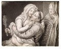 A Monk And A Woman Making Love - Dutch School