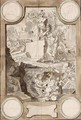 Design For A Frontispiece An Allegory Of The Decline Of Classical Civilization - Jan Goeree