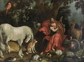 Orpheus Charming The Animals - Utrecht School